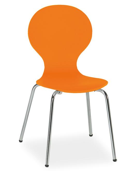 Smartshop Jídelní židle W-93 oranžová