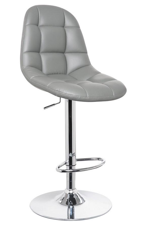 Smartshop Barová židle KROKUS C-198, šedá