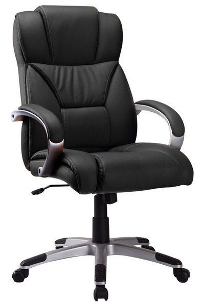 Smartshop Kancelářské křeslo Q-044 - černá ekokůže