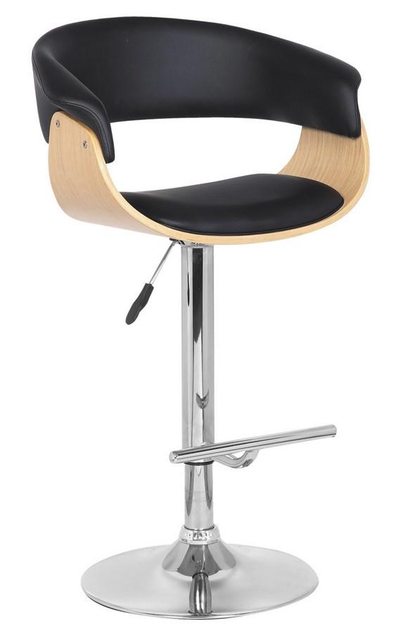 Smartshop Barová židle C-953, černá/dub