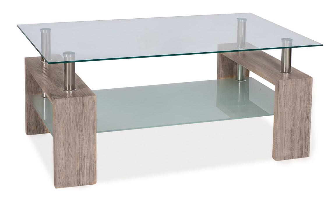 Konferenční stolek LISA II, dub canyon