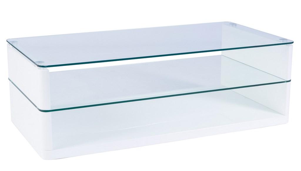 Smartshop Konferenční stolek ZARA, bílý lak