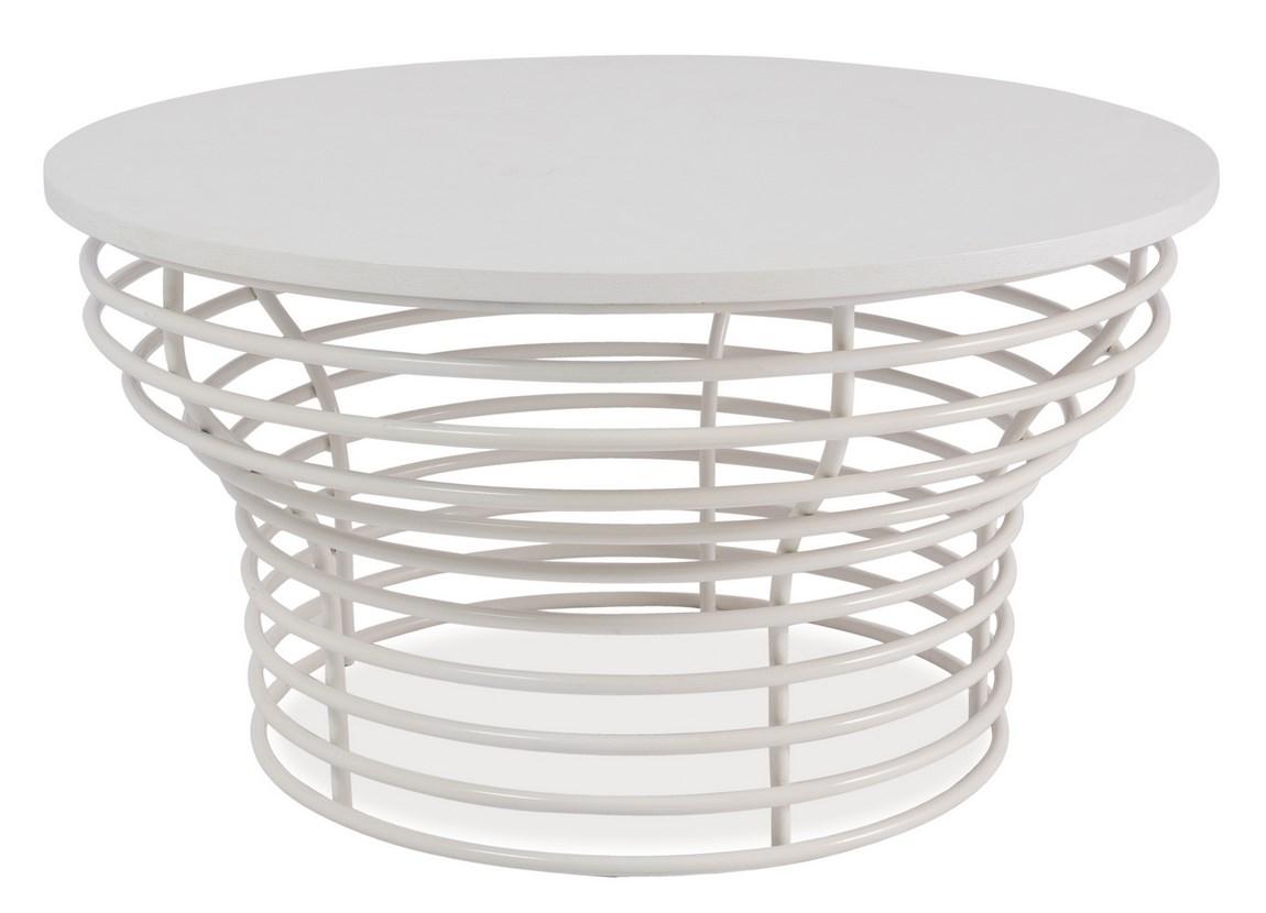 Smartshop Konferenční stolek OTTA v bílé barvě