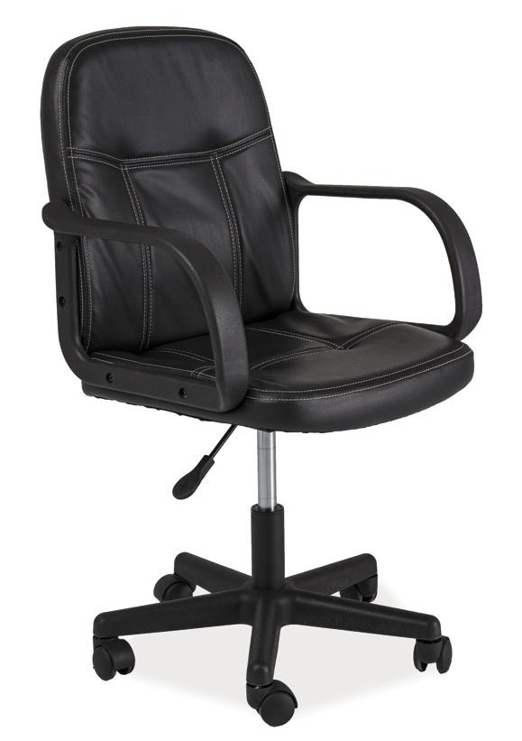 Smartshop Kancelářské křeslo Q-074 černá ekokůže