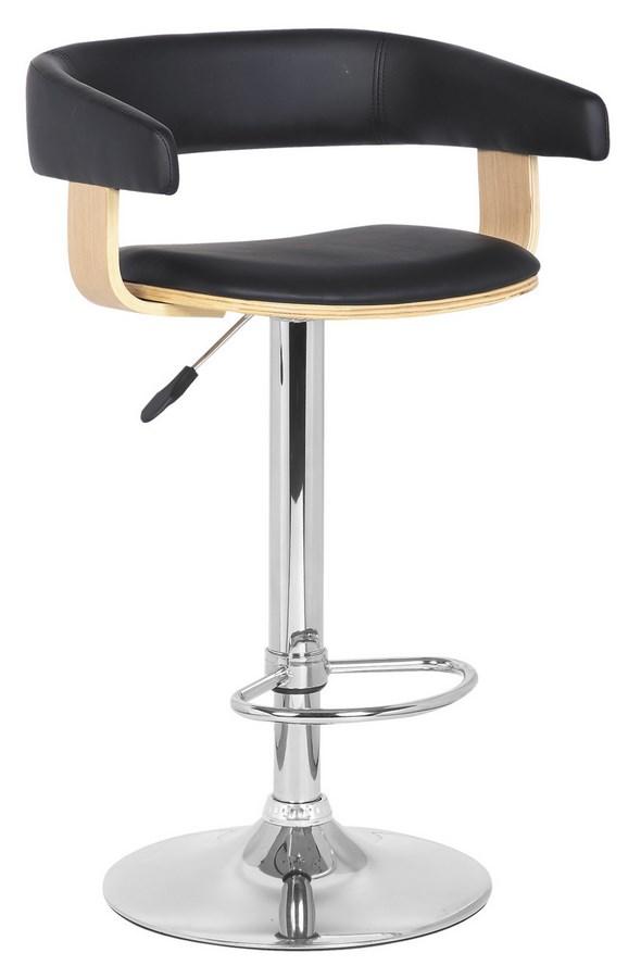 Smartshop Barová židle KROKUS C-923, dub/černá