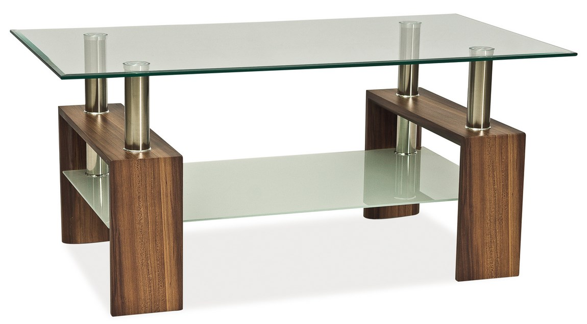Konferenční stolek LISA II, ořech