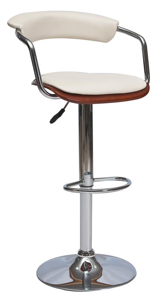 Smartshop Barová židle KROKUS C-973, třešeň/krémová