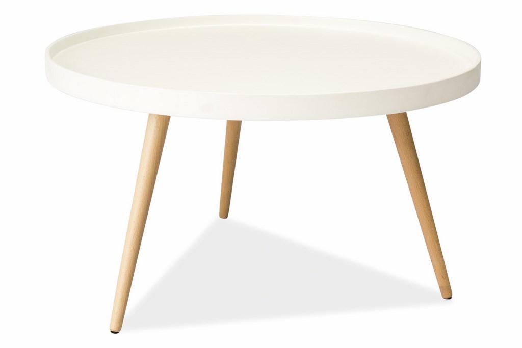 Smartshop Konferenční stolek TONI B bílý