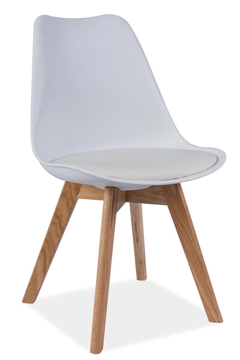Smartshop Jídelní židle KRIS, bílá