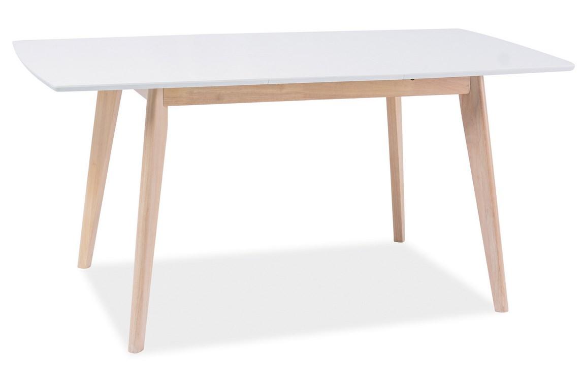 Smartshop Jídelní stůl rozkládací COMBO II, bílý