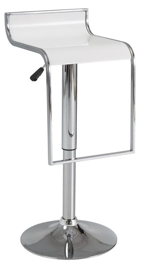 Smartshop Barová židle C-620, bílá