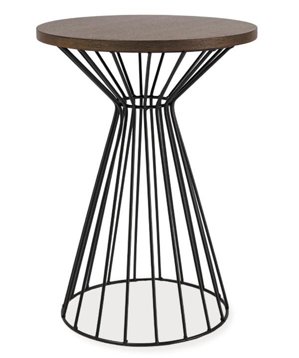 Smartshop Konferenční stolek ALTA II ořech/černá
