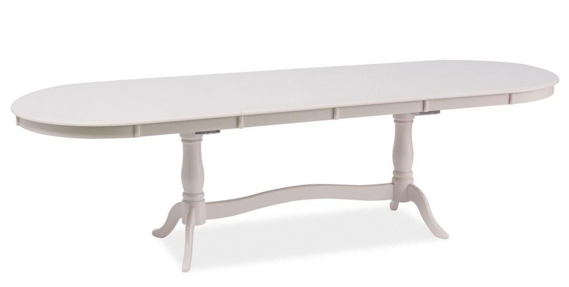 Smartshop Jídelní stůl IBERIA rozkládací 180x90, bílá