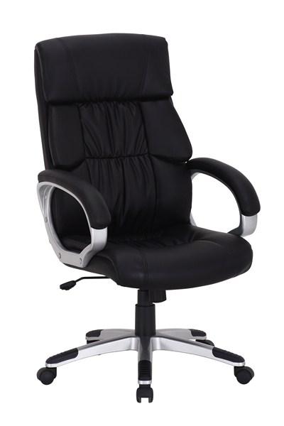 Smartshop Kancelářské křeslo Q-075 - černá ekokůže