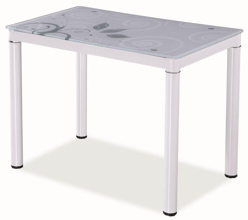 Jídelní stůl DAMAR, bílá