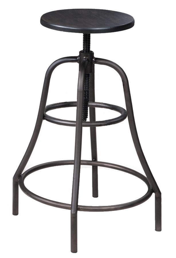 Smartshop Barová židle TANGO, ořech/kov