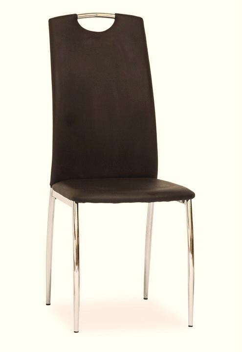 Smartshop Jídelní čalouněná židle H-622, hnědá