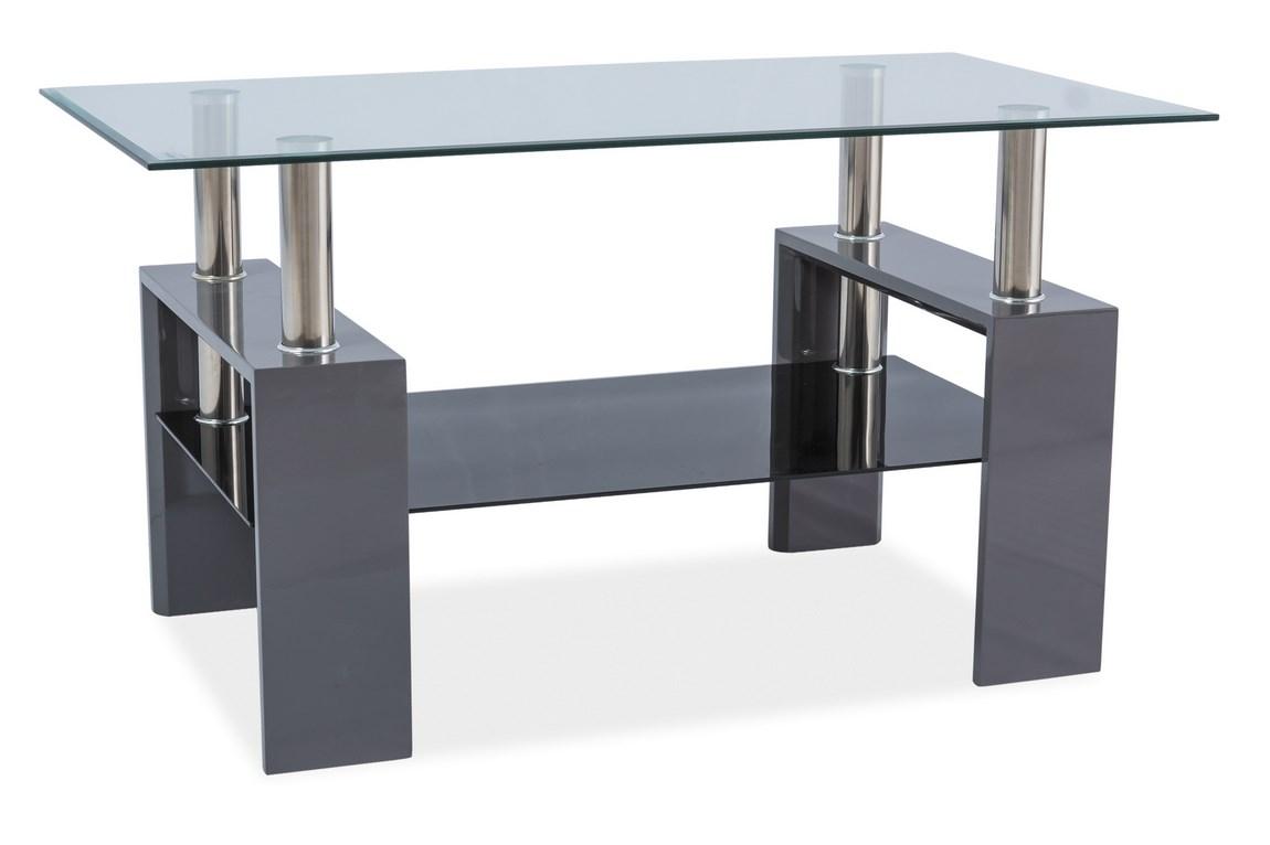 Konferenční stolek LISA III, šedý lak