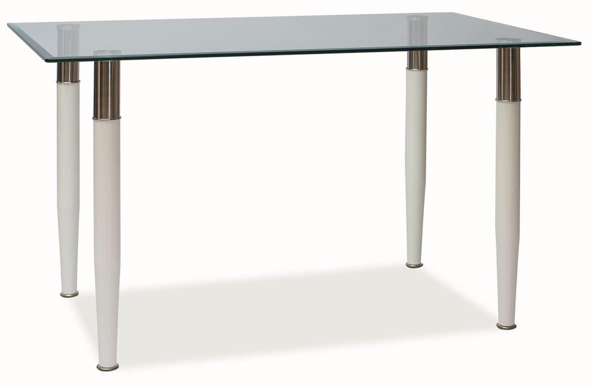 Smartshop Jídelní stůl ELTON, sklo/kov