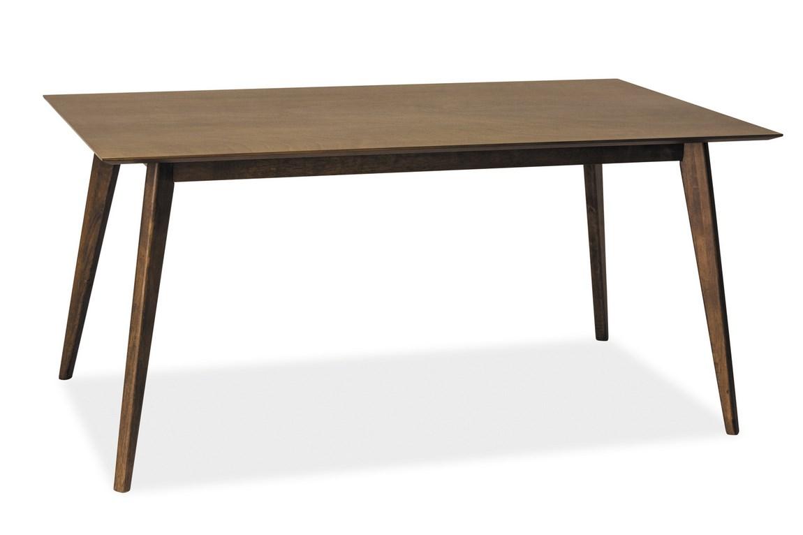 Smartshop Jídelní stůl BRANDO, tmavý ořech