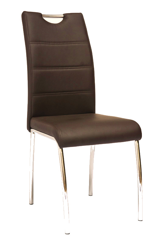 Smartshop Jídelní čalouněná židle H-822, hnědá