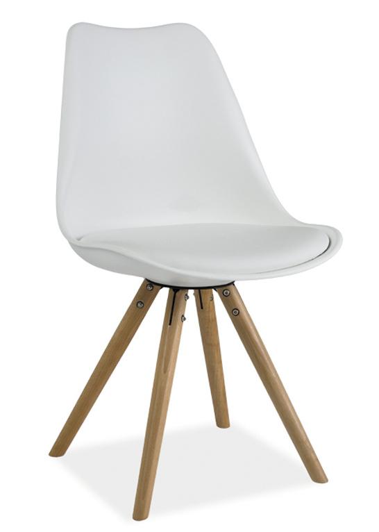 Smartshop Jídelní židle ERIC, bílá