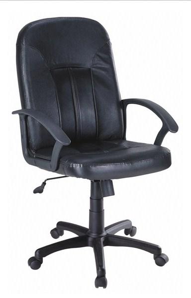Kancelářské křeslo Q-023, černá ekokůže