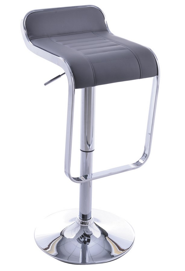 Smartshop Barová židle KROKUS C-621, šedá