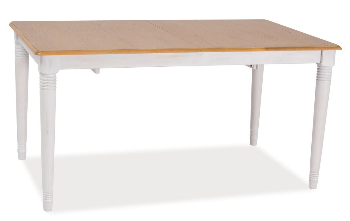 Smartshop Jídelní stůl FADO, dub/bílá