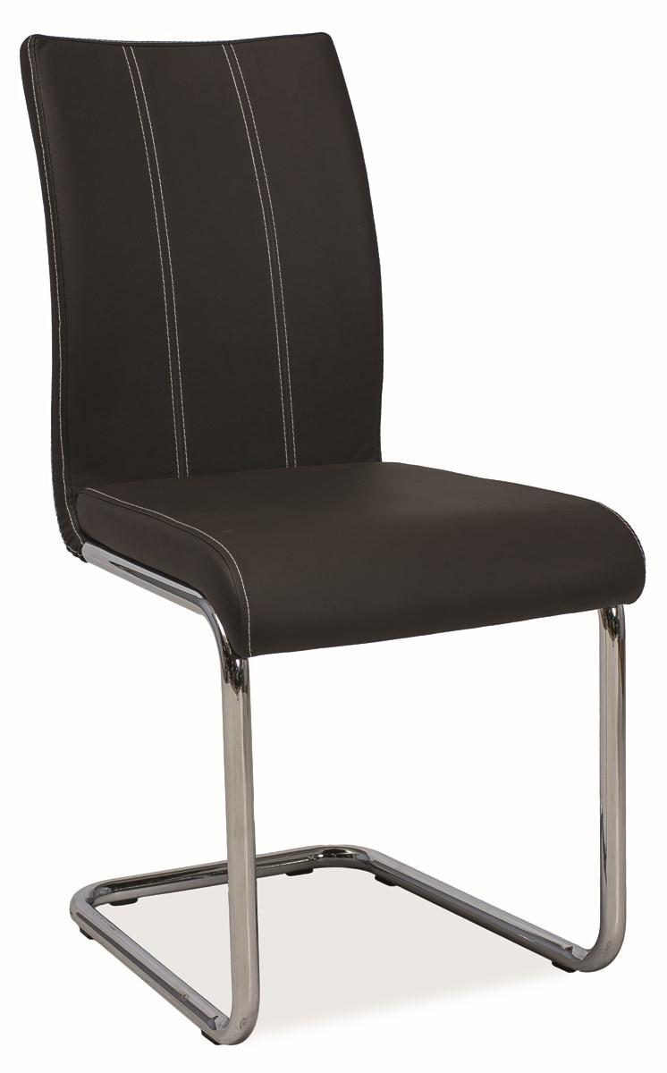 Smartshop Jídelní čalouněná židle H-811, hnědá