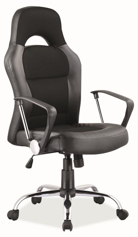 Kancelářské křeslo Q-033 černá/šedá