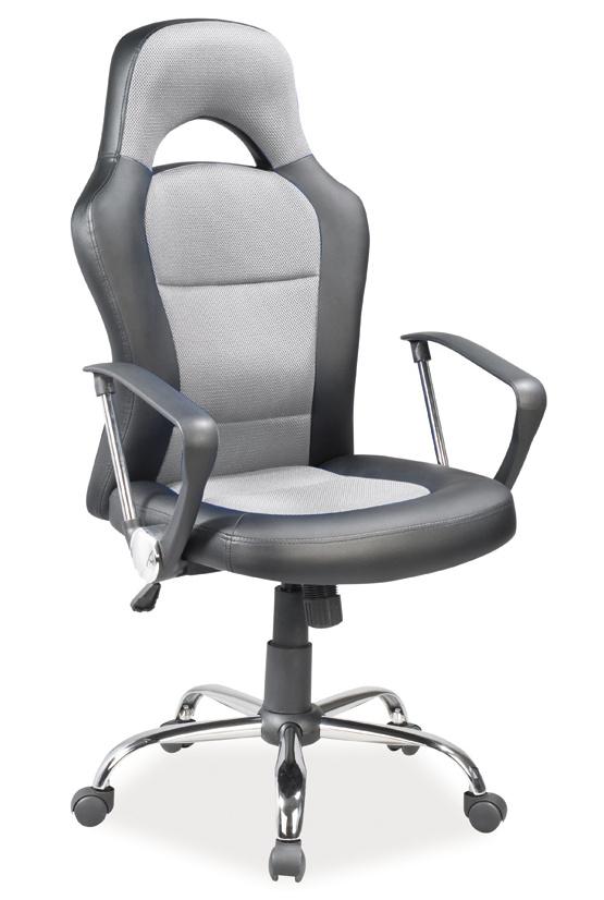 Kancelářské křeslo Q-033 šedá