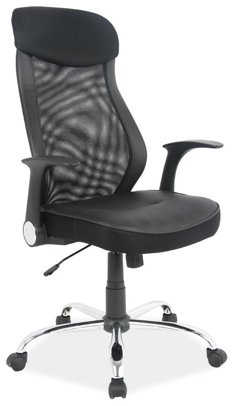 Kancelářské křeslo Q-120 černá