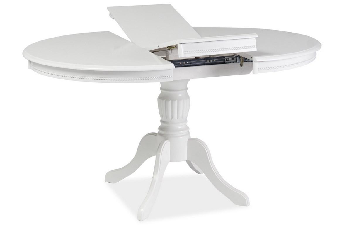 Smartshop Jídelní stůl OLIVIA rozkládací, bílý