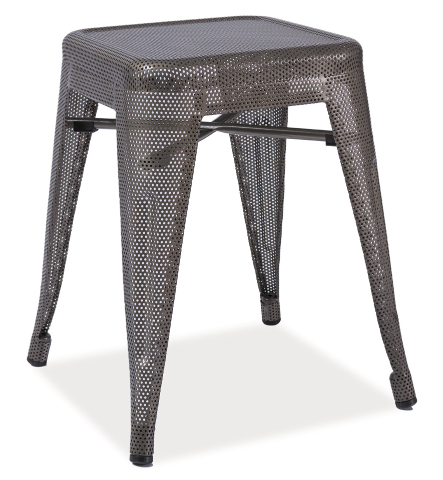 Smartshop Kovový taburet - stolek SPOT ocel perforovaná