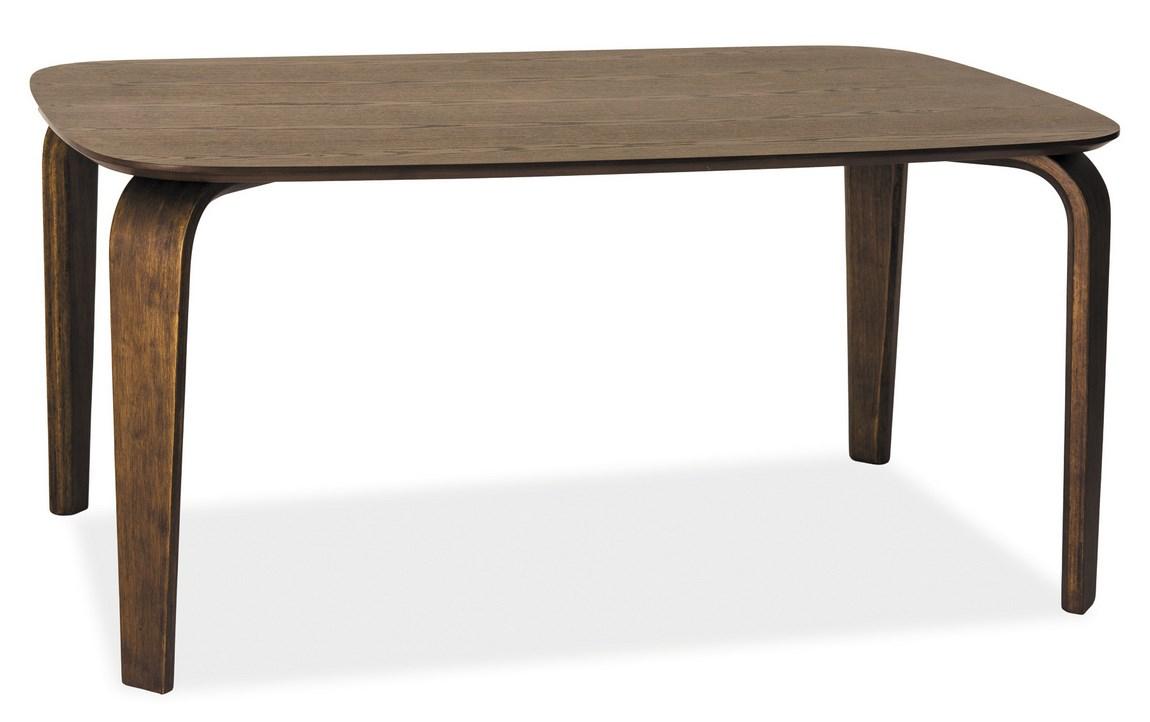 Smartshop Jídelní stůl MEZZO, tmavý ořech