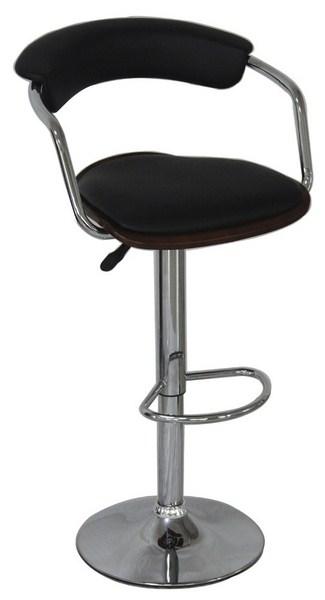 Smartshop Barová židle KROKUS C-973, wenge/černá