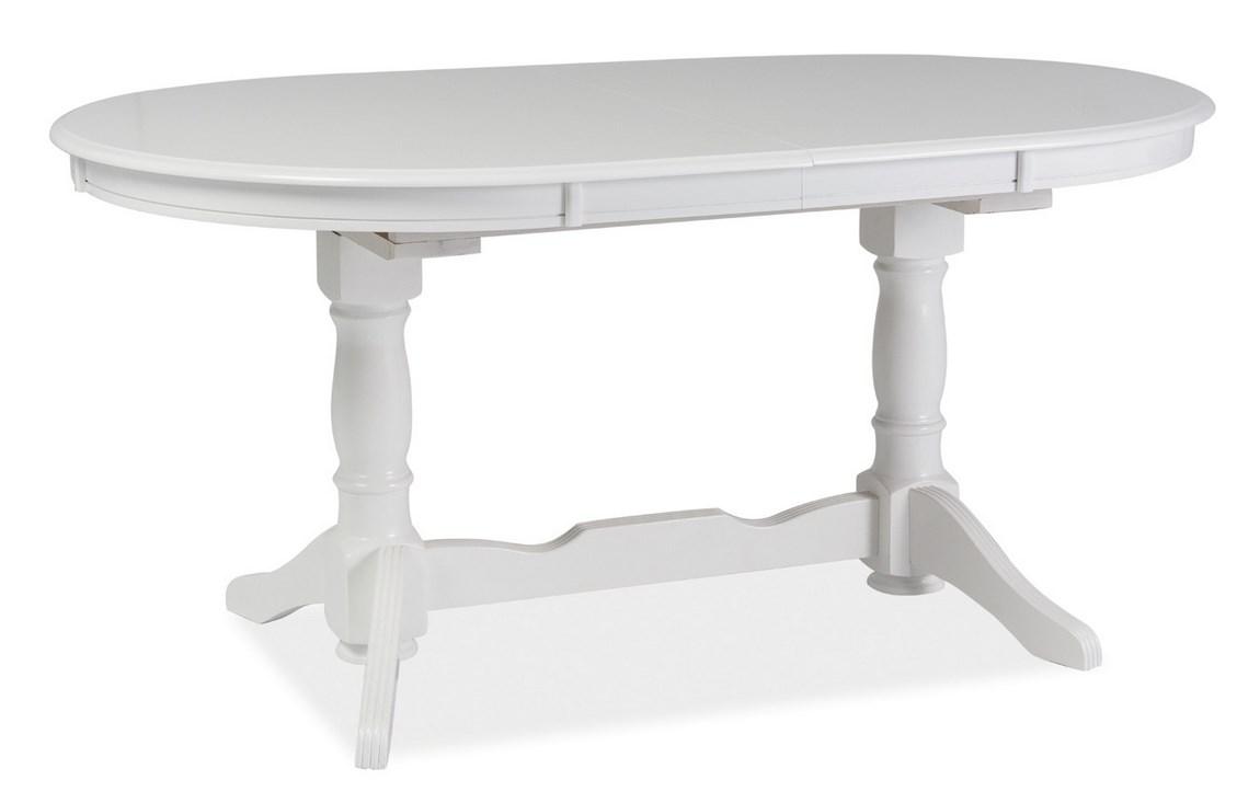 Smartshop Jídelní stůl EUROPA rozkládací, bílá
