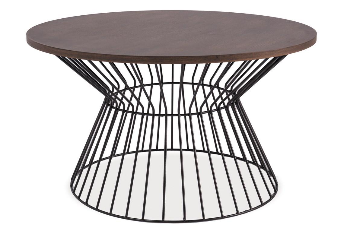 Smartshop Konferenční stolek ALTA, ořech/černá
