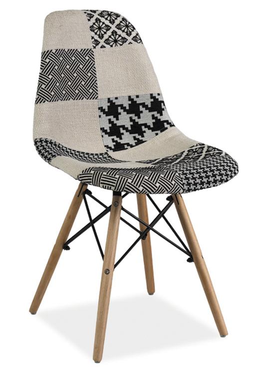 Smartshop Jídelní židle SIMON B, patchwork