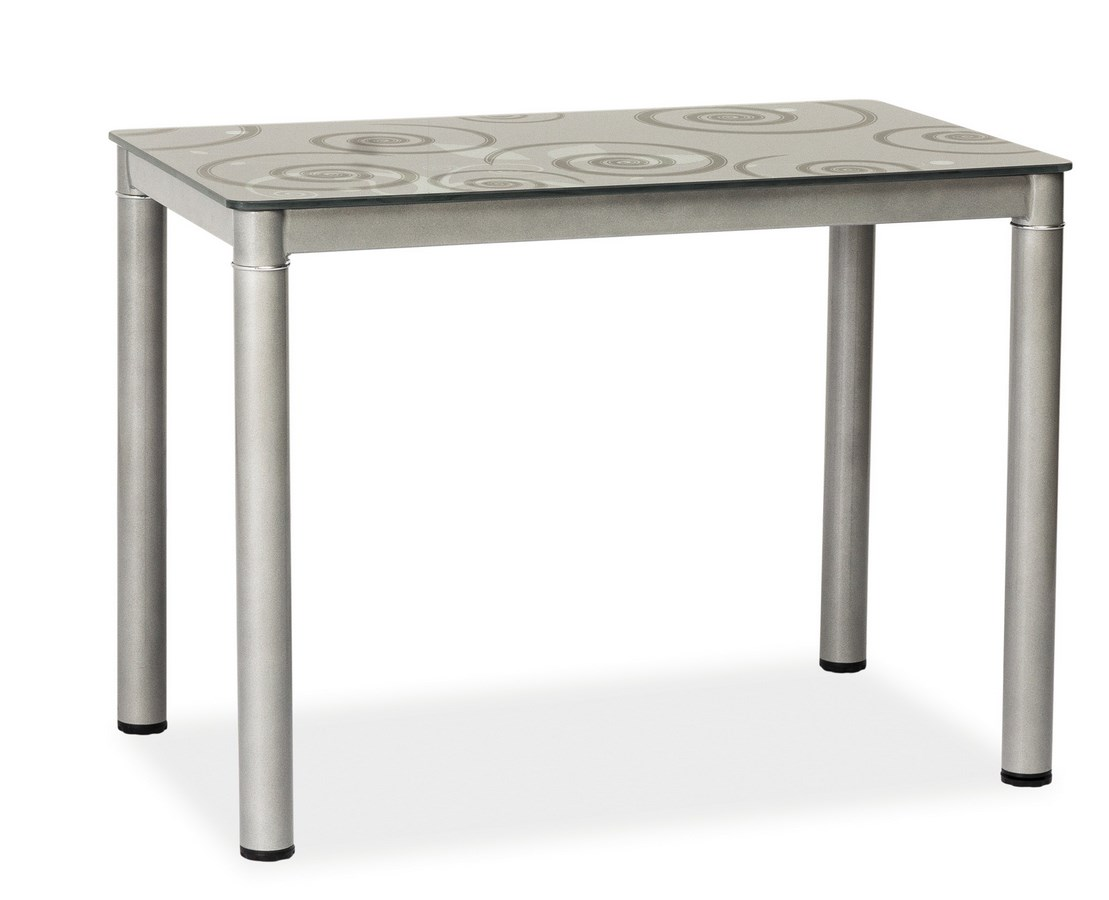 Smartshop Jídelní stůl DAMAR, šedá