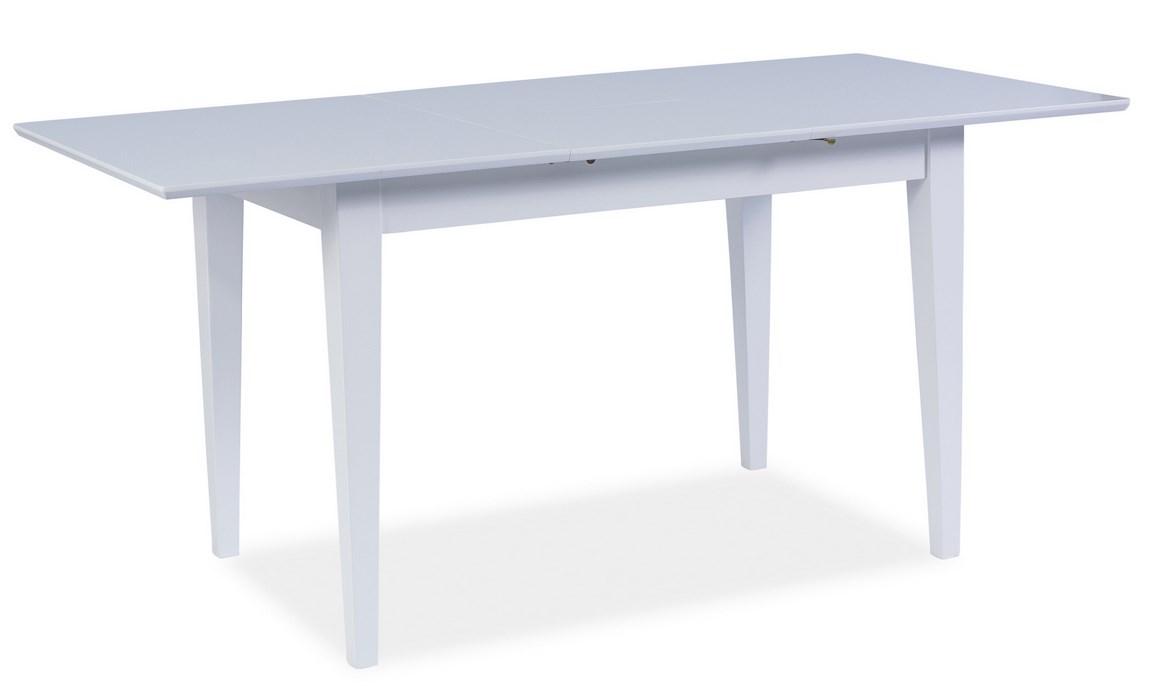 Smartshop Jídelní stůl rozkládací NATAN, bílá
