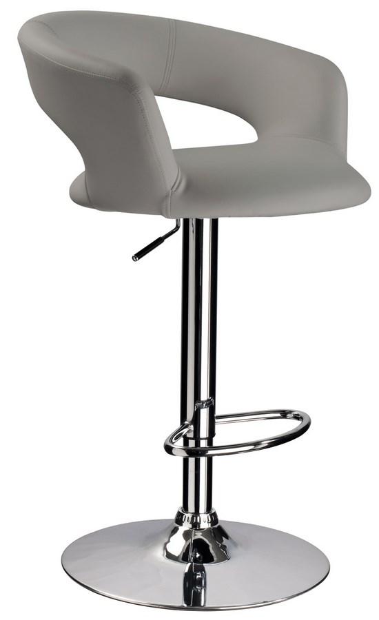 Smartshop Barová židle KROKUS C-328, šedá