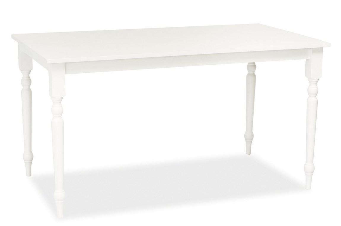 Smartshop Jídelní stůl LINCOLN, bílá