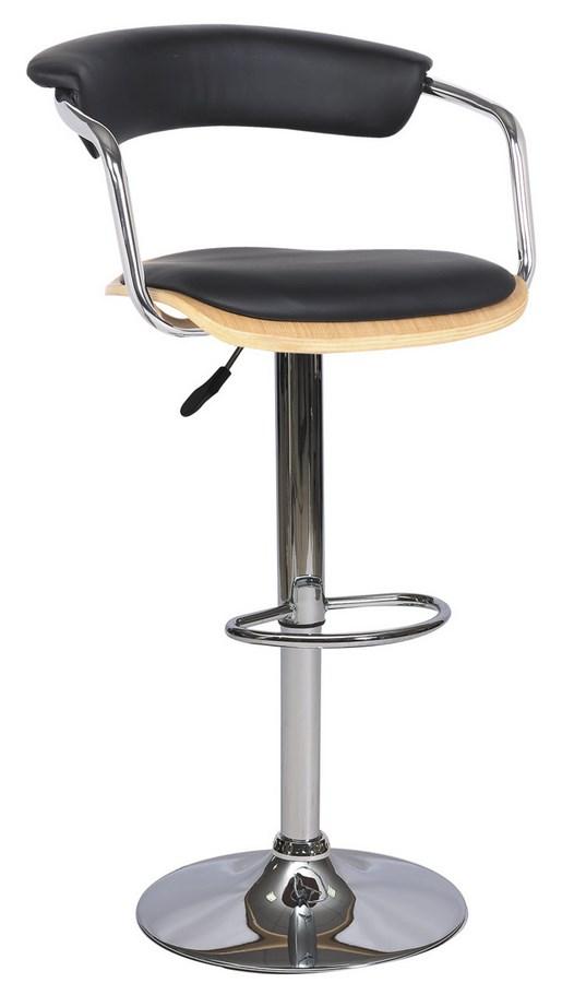 Smartshop Barová židle KROKUS C-973, dub/černá