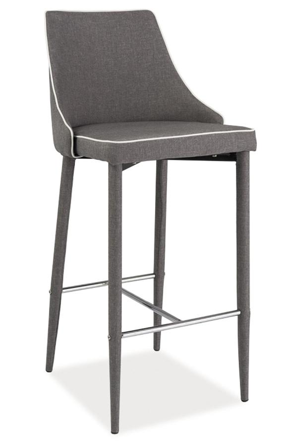 Smartshop Barová židle LOCO, šedá