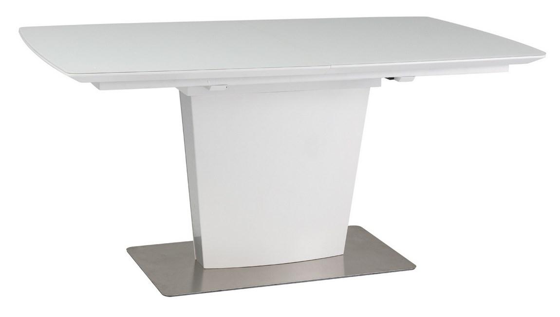 Smartshop Jídelní stůl FELIPE bílý rozkládací