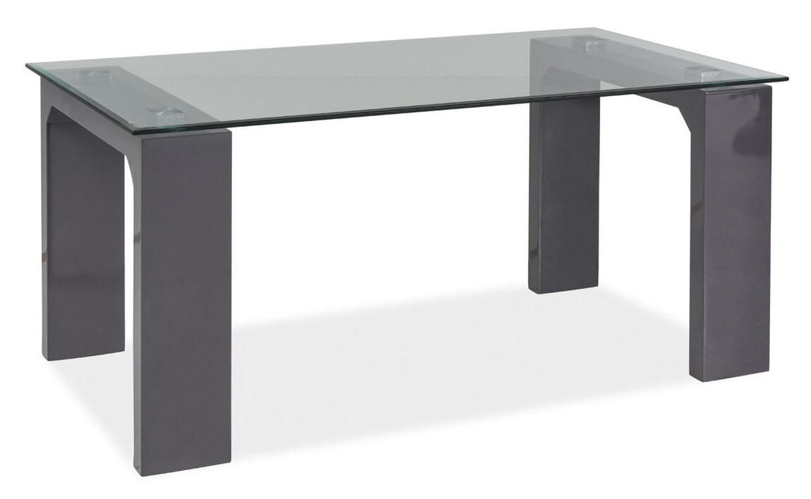 Smartshop Konferenční stolek SCARLET šedá