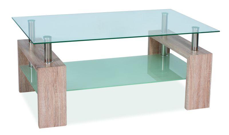 Konferenční stolek LISA II, dub sonoma