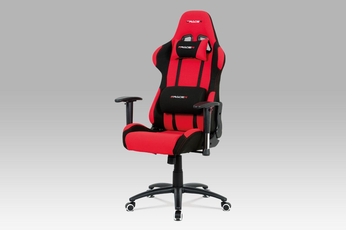 Smartshop Kancelářská židle KA-F01 RED, červená